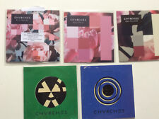 Chvrches [5 CD Maxi/Promo] Empty Threat + Every Open Eye + Make Them Gold + Sink