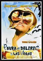 Cartel Miedo Y Delirio En las Vegas Terry Gilliam Johnny Depp De Toro E13