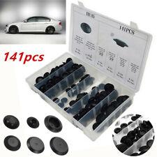 "Auto Car Body Plastic Plug Button Flush Mount Sheet Metal Plugs 1/2"" 3/4""  w/Box"
