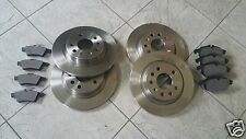 FORD FOCUS MK 3  11-16  TWO FRONT & TWO REAR BRAKE DISCS & BRAKE PADS L &R