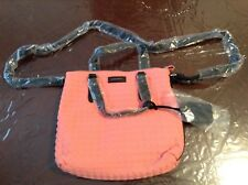 New Sonia Rykiel woman's handbag girls Pocket Book pink mauve black bag tote