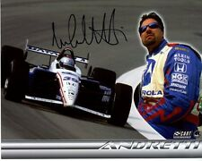 MICHAEL ANDRETTI signed autographed INDY photo