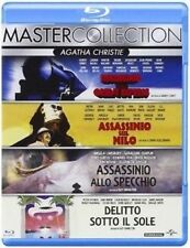Blu Ray AGATHA CHRISTIE COLLECTION - (Box 4 Dischi) Universal Pictures..NUOVO
