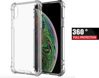For Apple iPhone (i)XR - Full Body Ultra Slim 360 Hybrid Screen Case Cover