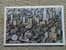 POSTCARD. PORTION OF DOWNTOWN TORONTO CANADA.NUMBER 43.NOT POSTED.