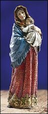 Madonna Of The Streets Ornate Brocade Statue Madonna And Child Jesus Christ