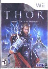 Thor: God of Thunder (Nintendo Wii, 2011)   Factory Sealed Cellophane
