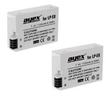 2 x ayex® LP-E8 Li-Ion Akku für Canon EOS 550D, 600D, 650D, 700D