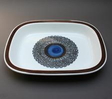 RORSTRAND Swedish serving platter, Vintage 1960s, AMANDA ceramic tableware