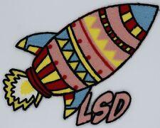 Chenille Patch: LSD Rocket