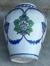 Ancien vase iznik ? ottoman ?  Turkish pottery turquie ceramique