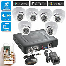 8CH 264.H CCTV DVR Surveillance Security System,720P AHD Camera,Day/night IR Cut