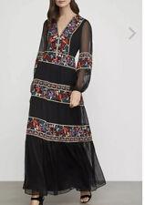 bcbg maxazria Floral Embroidered Maxi Dress Size 2 NWT