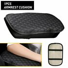 Black Car Protector Armrest Cushion Cover Center Console Pad Replacement Parts