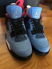 Air Jordan Retro 4 Cactus Jack Travis Scott Style 308497 - 406 Men's Size 9.5