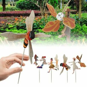 Whirligig Asuka Clown Windmill Whirly Parrots Spinner Garden Lawn Decor @I