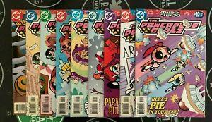 The Powerpuff Girls Lot of 9 (#10-31) VF/NM 2001-2002 Cartoon Network DC Comics