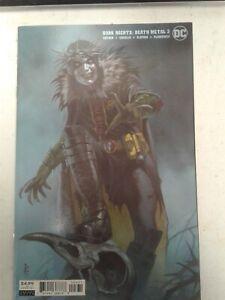 Dark Knights Death Metal #3 (2020) Federici Robin King variant (9.0) VF/NM