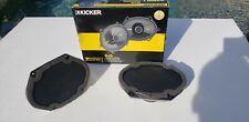 KICKER CS Series 6 X 8,  2 way 225W Car Audio Speaker Pair CSC68. BRAND NEW