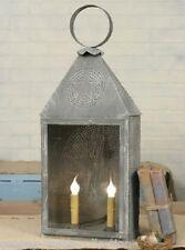 Large Table/Floor LAMP*Barn Stars*French Country/Primitive/Farmhouse+Light Bulbs