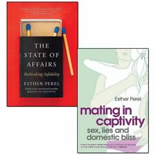 Esther Perel Mating in Captivity State Of Affairs 2 Books Collection Set NEW