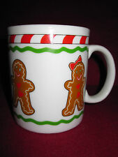 Christmas Coffee Cup Mug Holiday Candy Cane Stripe Gingerbread Cookie Boy Girl