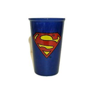 Superman Ceramic Travel Coffee Tea Mug Cup *No Lid*