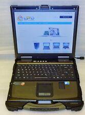 Getac B300-X Rugged Intel Core i7 2.0GHz 4GB RAM touchscreen Laptop backlit KB