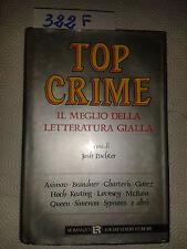 PACHTER Josh - TOP CRIME, Il meglio della letteratura gialla - L.REVERDITO -1989
