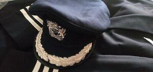 Pilot or Cabin Crew Uniform Cap Size 56
