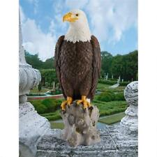 "Patriotic Majestic Mountain Eagle Design Toscano Exclusive 21½"" Garden Statue"