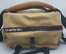 "Vintage Tamrac Camera Bag 12""X5""x8"" Travel w Film Pocket & Adjustable Strap EUC"