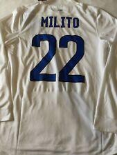 MILITO / Genoa/ INTER no MATCH WORN NIKE Maglia TRIKOT Maillot JUVENTUS MILAN