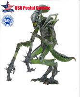 "Alien Series 10 Mantis Alien Figure Green 7"" Xenomorph Hugger Action Figure"