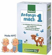 Holle Lebenswert Stage 1 Organic Baby Formula, 0-6 months, 500g 05/2019