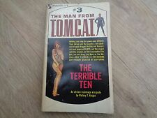 The Man from T.O.M.C.A.T. 3 The Terrible Ten Mallory T Knight Tandem 1967 1st ED