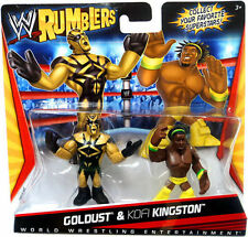 WWE Rumbler 2 Pack: Goldust & Kofi Kingston by Mattel New Sealed Rare *Free P&P*