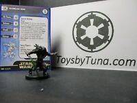 Star Wars Miniatures Quinlan Vos Clone Strike CS w/ Card mini RPG Legion