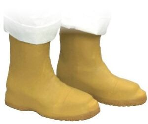 """NORTH SAFETY A352 12"""" LATEX BOOTIES XXL MEN'S 12-13 WATERPROOF OVER BOOTS SHOES"""