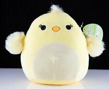 "New 8"" Easter Squishmallows Plush Animal Kellytoy - Aimee the Yellow Chick"