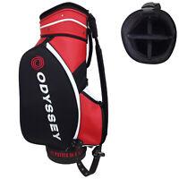 "Odyssey Golf Tour Staff Cart Bag - Ex-Demo Used Players 10.5"" Divider Top Carry"