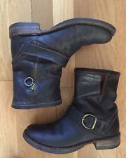 Fiorentini + Baker Women's 'Eli Eternity' Brown Leather Ankle Boots - Size 36.5