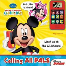 Mickey Mouse Clubhouse Cell Phone and Sound Book: Calling All Pals Editors of Pu