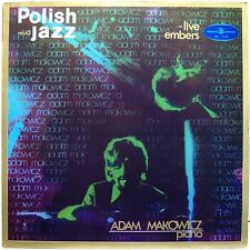 Adam Makowicz LIVE EMBERS Polish Jazz vol.43 - Vinyl LP Near Mint
