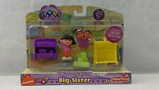 Dora the Explorer Nick Jr Fisher Price Let's Go Adventure Big Sister new