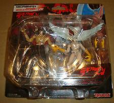 Microman Micro Action Series Ma-sp02 Devilman & Silene Takara 2004