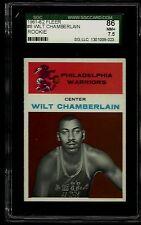 1961-62 FLEER #8 WILT CHAMBERLAIN RC SGC 86 NM+ 7.5 WARRIORS LAKERS ROOKIE (R)