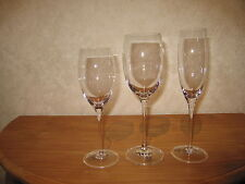NACHTMANN *NEW* SHOWTIME Set 3 Verres Glasses