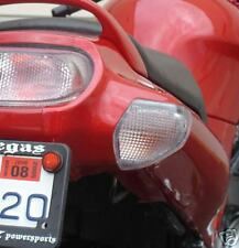KAWASAKI ZZR600 PAIR CLEAR REAR INDICATORS  ZZR 600 'E' MARKED CE APPROVED