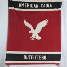 Limited Edition AEO American Eagle Fleece Blanket Throw Soft 60 X 50